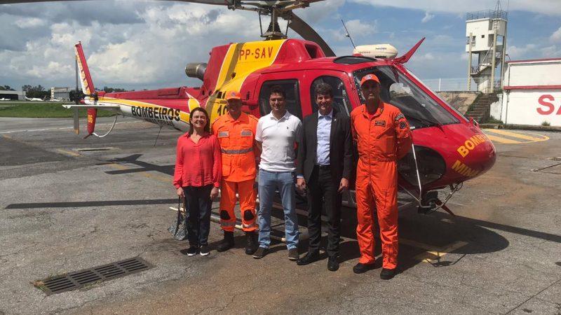 Advogado-Geral do Estado, Dr. Sérgio Pessoa, visita área atingida pelo rompimento da barragem B1 em Brumadinho
